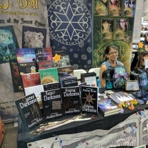 The RMFW IPAL Table at Comic Con 2017