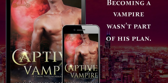 Captive Vampire #ParanormalUnderworld #PNR